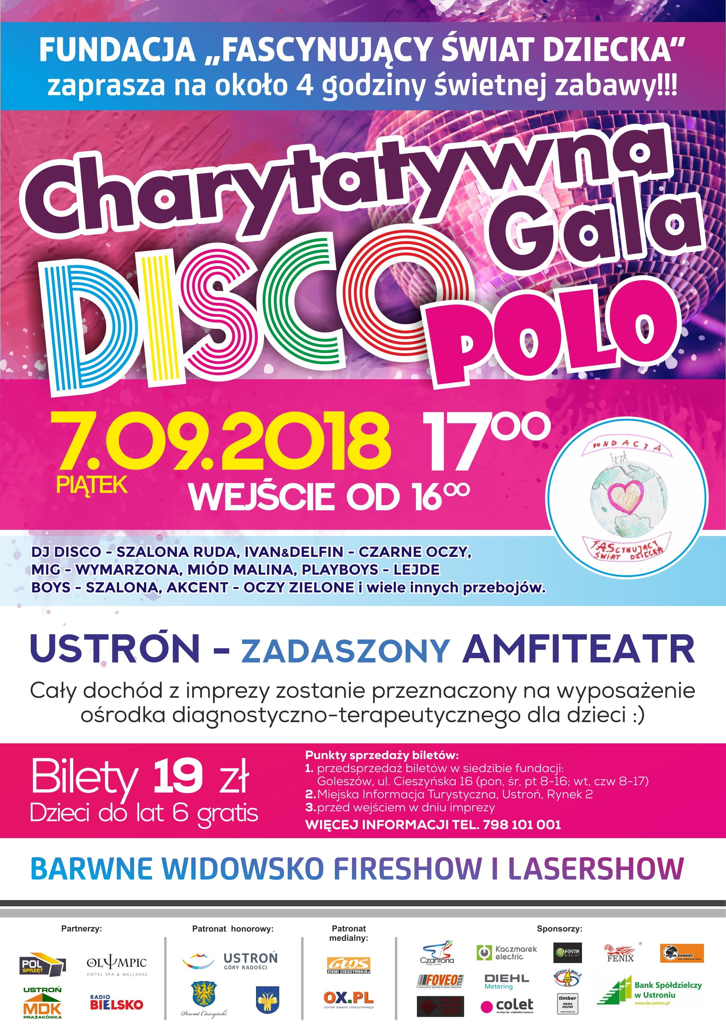 Charytatywna Gala Disco Polo