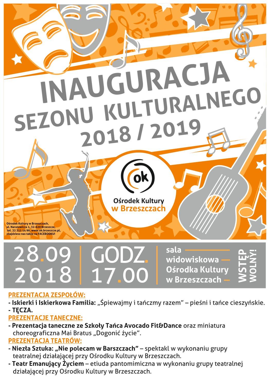 Inauguracja Sezonu Kulturalnego 2018/2019