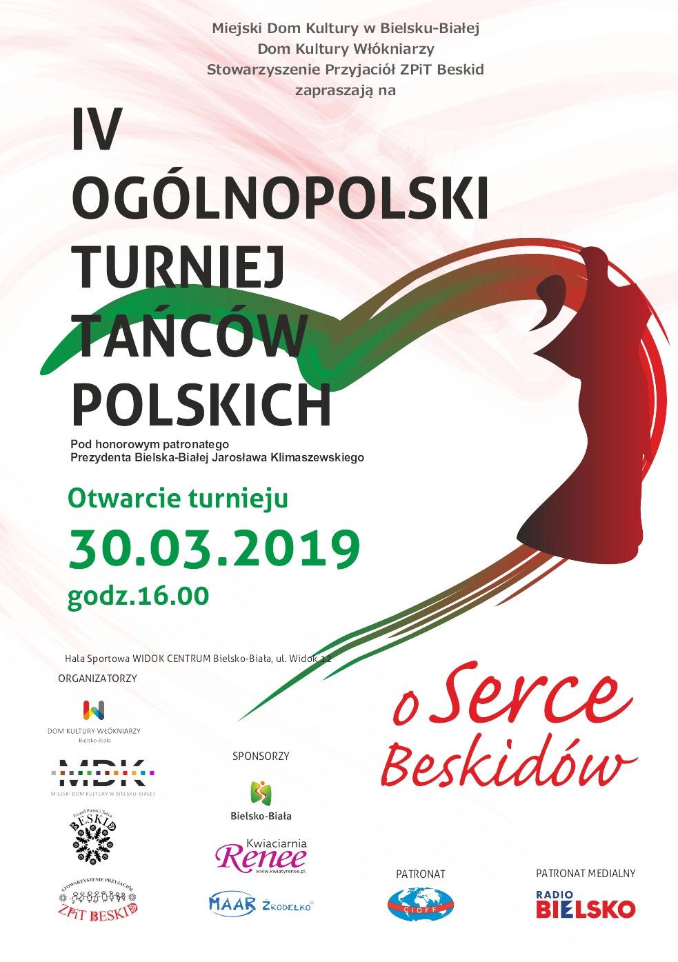 Iv Ogólnopolski Turniej Tańców Polskich