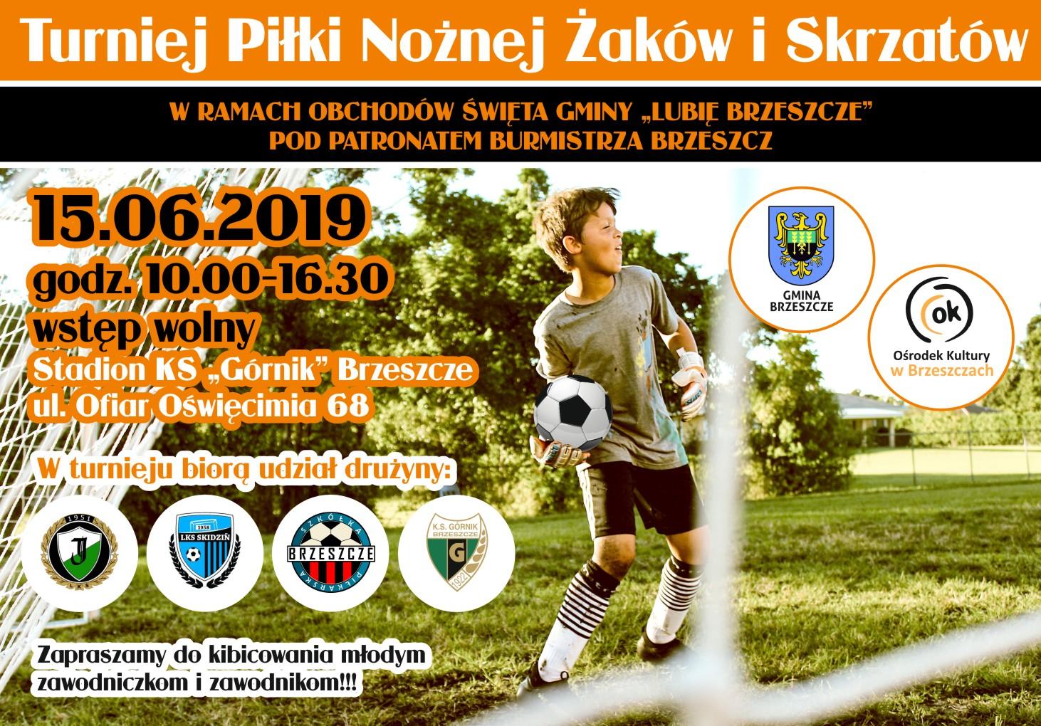 Turniej Piłki Nożnej Żaków I Skrzatów