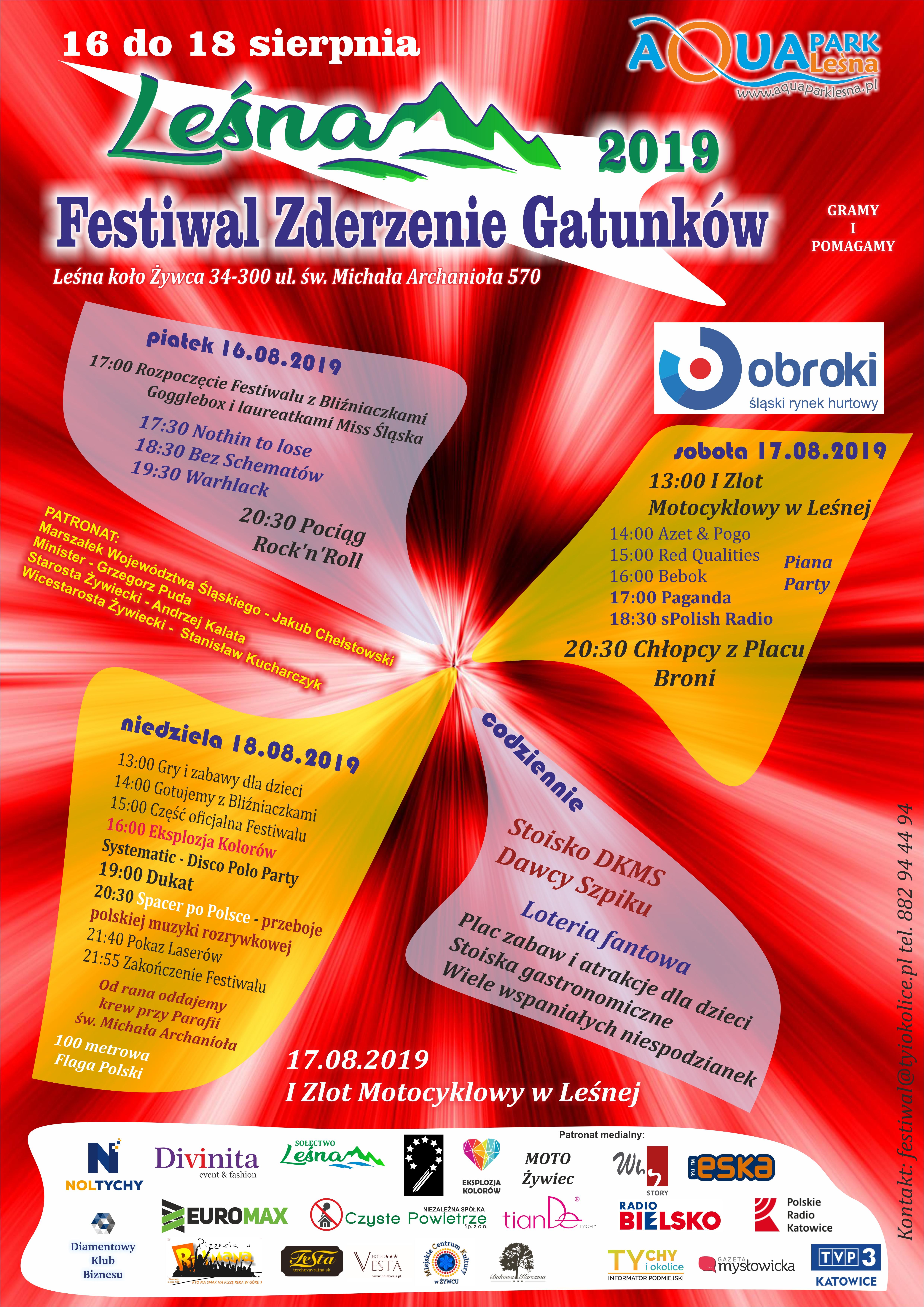 Festiwal Zderzenie Gatunków - Leśna 2019