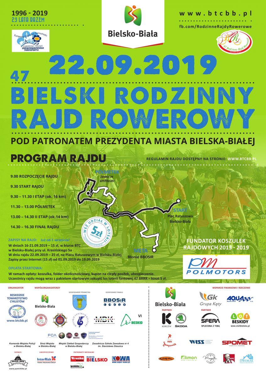 47 Bielski Rodzinny Rajd Rowerowy