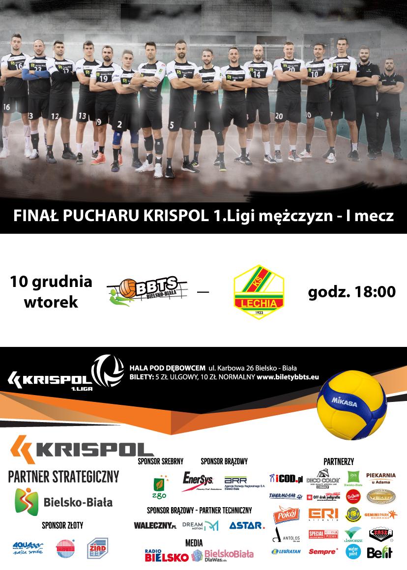 Mecz O Puchar Krispol I Ligi Siatkówki Mężczyzn - I Mecz