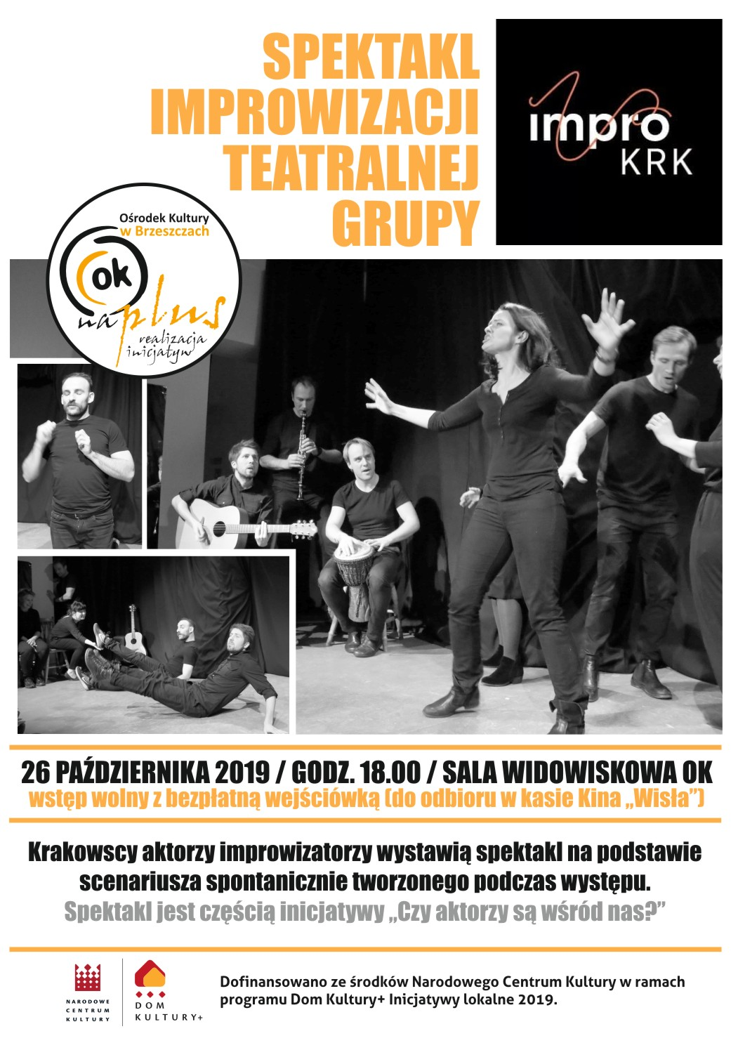 Spektakl Improwizacji Teatralnej Grupy Impro Krk