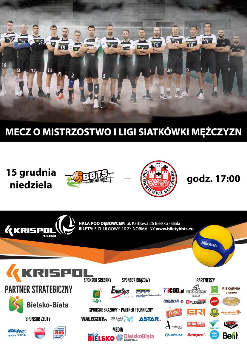Mecz O Mistrzostwo I Ligi Siatkówki Mężczyzn