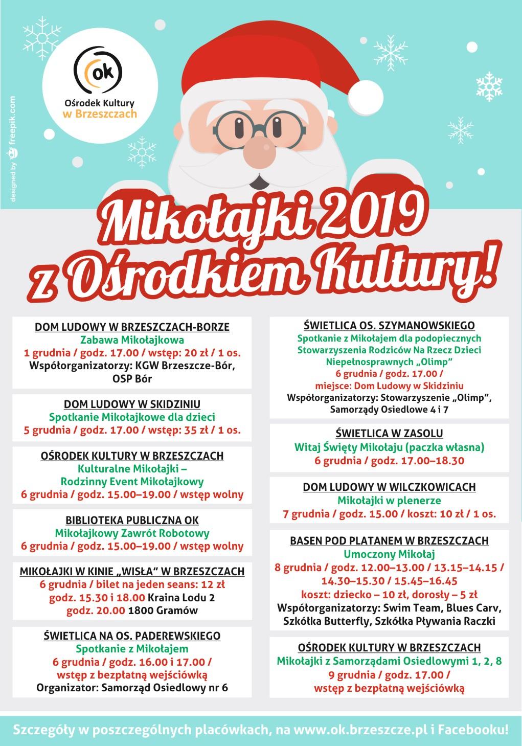 Mikołajki 2019 Z Ośrodkiem Kultury