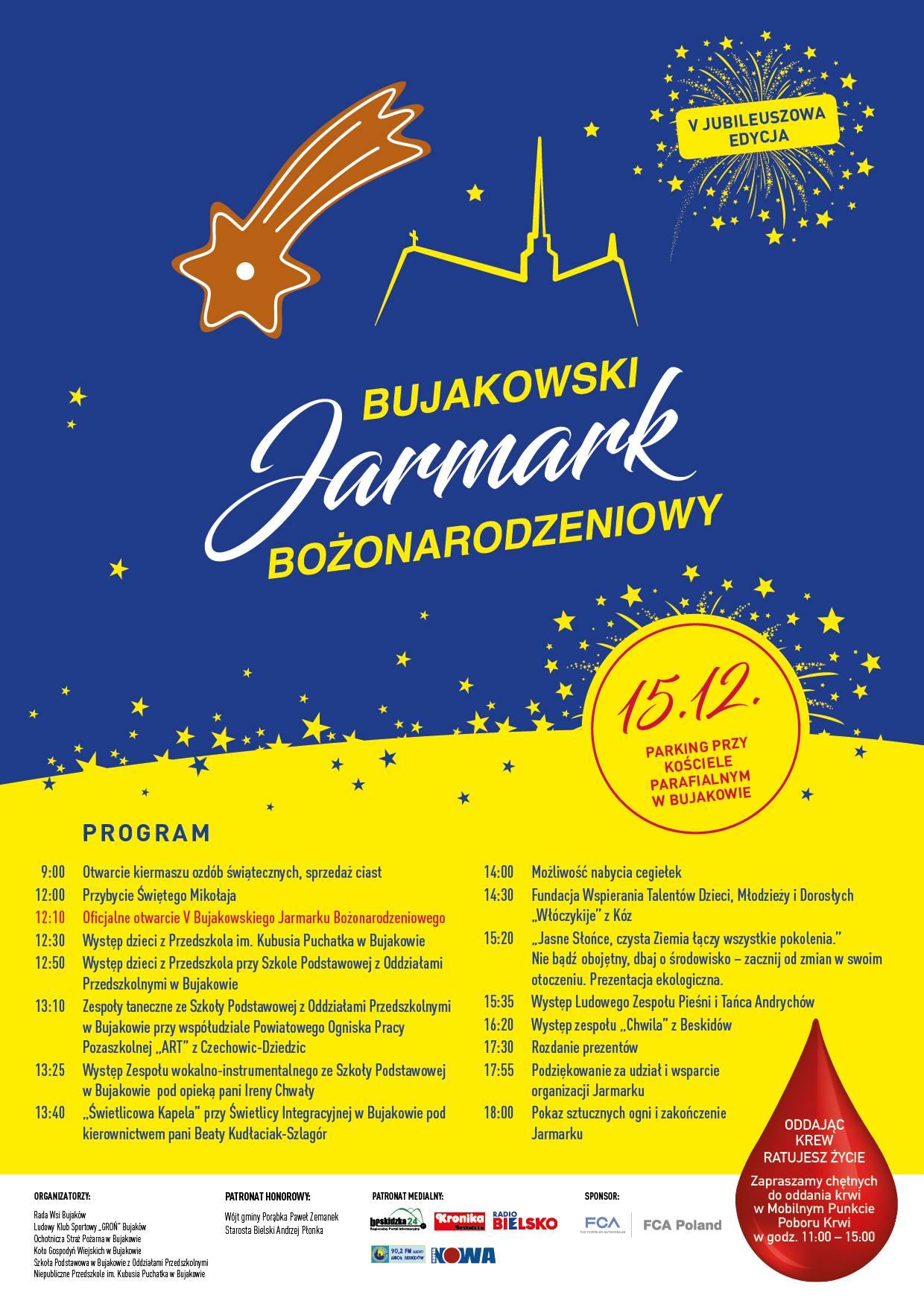 Bujakowski Jarmark Bożonarodzeniowy