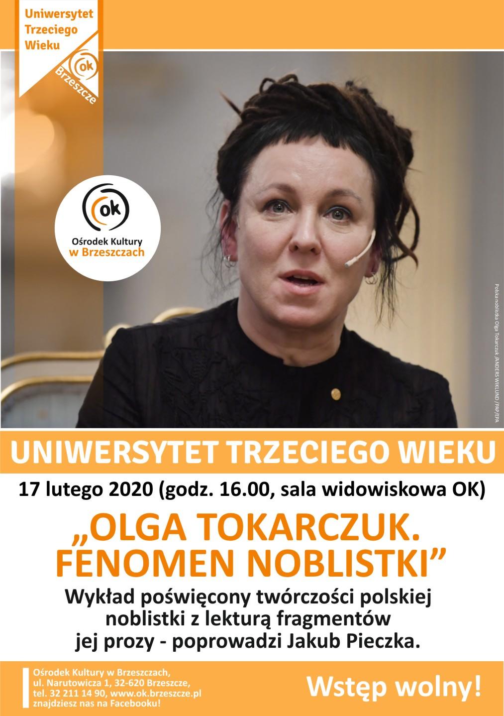 Olga Tokarczuk - Fenomen Noblistki