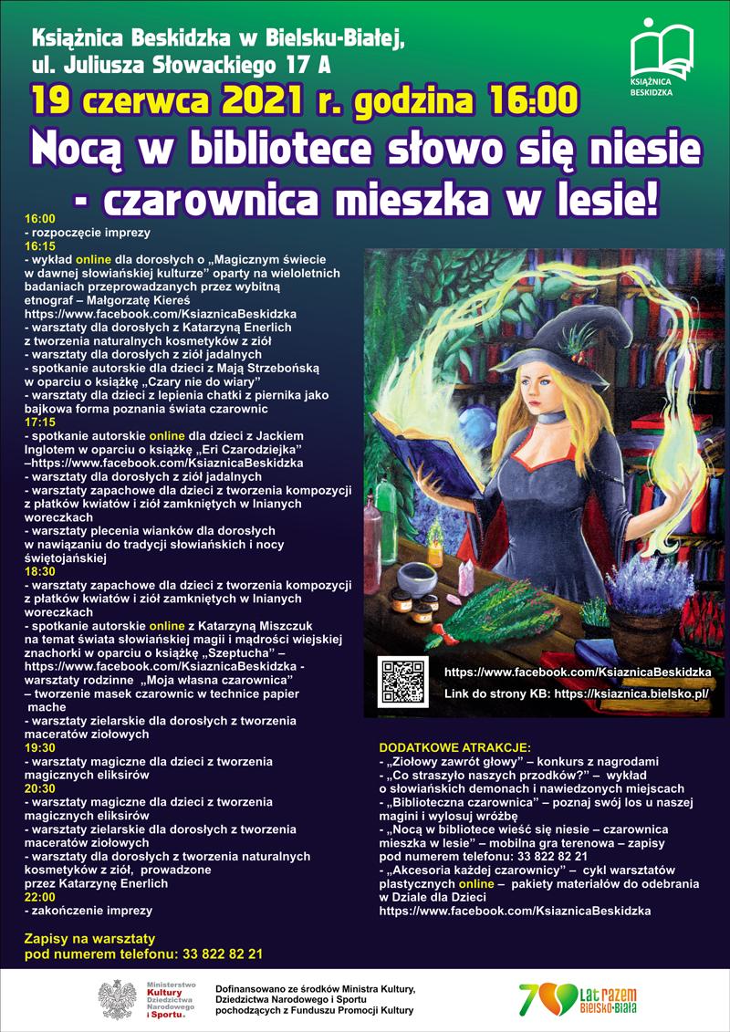 Nocą W Blibliotece Słowo Się Niesie - Czarownica Mieszka W Lesie!