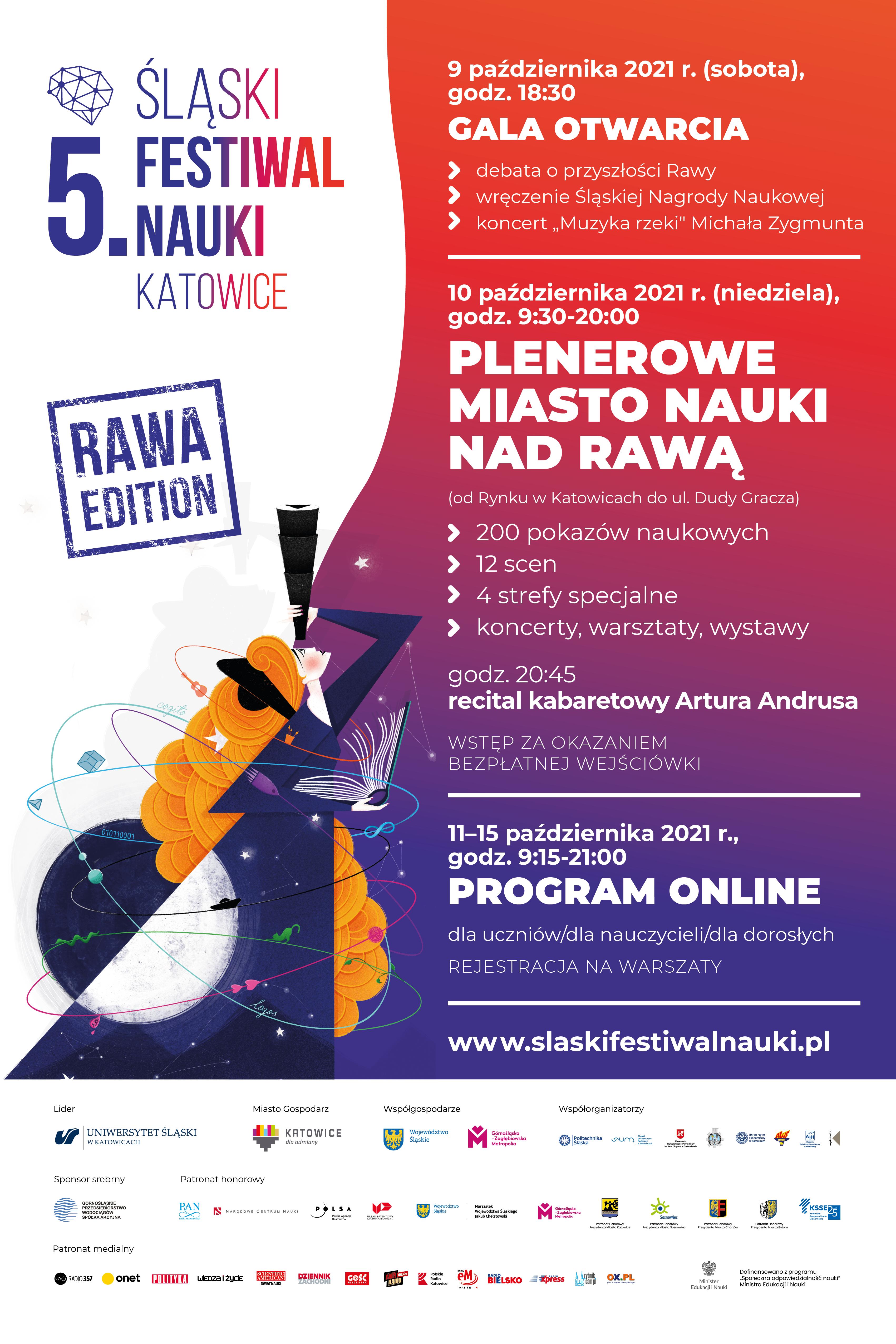 5 Śląski Festiwał Nauki Katowice - Sfn