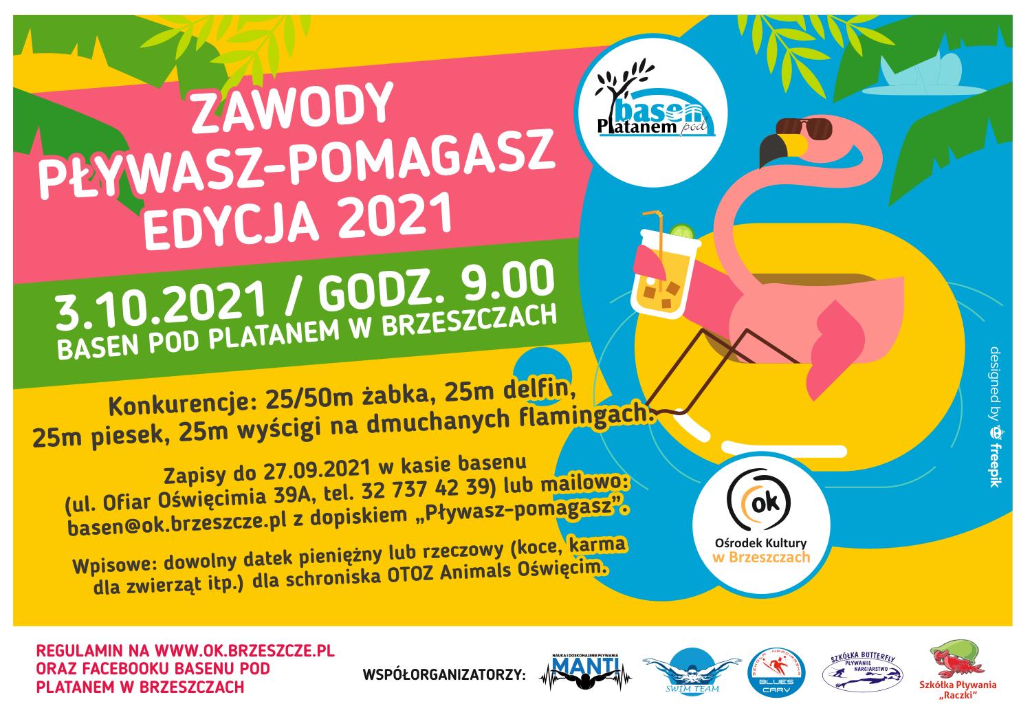 Zawody Pływasz-Pomagasz - Edycja 2021