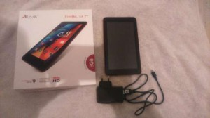 Tablet Lark Free Mee X 4 pure HD 7