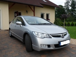 Honda Civic sedan 1.8 V-tec inst.LPG z salonu w PL