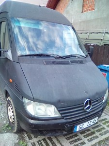 Mercedes-Benz Sprinter Bus   Podwyszony Towarowy