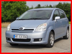 Toyota Corolla Verso 1.8 benzyna AUTOMAT, 7 osobowy