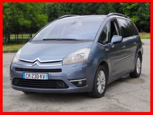 Citroen C4 Grand Picasso 2.0 HDI 136 KM 7 osobowy 2007 r półautomat, nawi, solar, tempomat