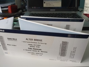 Bilety na koncert AlterBridge i Shinedown