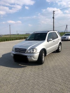 Mercedes-Benz ML W 163, 400 CDI