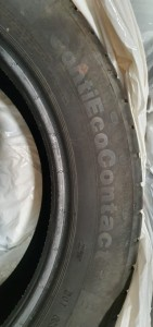 4 X Continental, Eco Contact 5, 215/55 R17